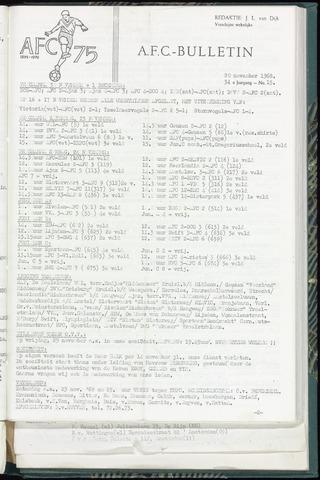 Bulletins (vnl. opstellingen) 1968-11-20