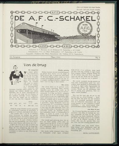 Schakels (clubbladen) 1964-03-01