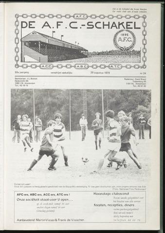 Schakels (clubbladen) 1979-08-29