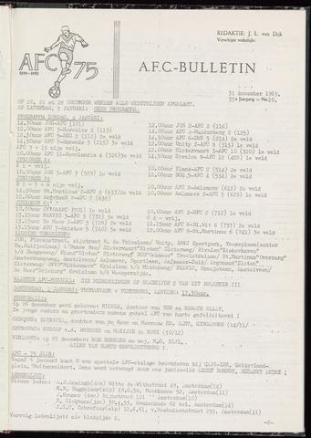 Bulletins (vnl. opstellingen) 1969-12-31