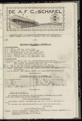 Schakels (clubbladen) 1941-12-04