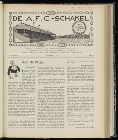 Schakels (clubbladen) 1956-11-01