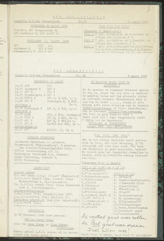 Bulletins (vnl. opstellingen) 1956-03-06