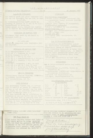 Bulletins (vnl. opstellingen) 1957-01-15