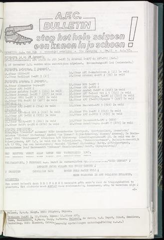 Bulletins (vnl. opstellingen) 1967-01-04