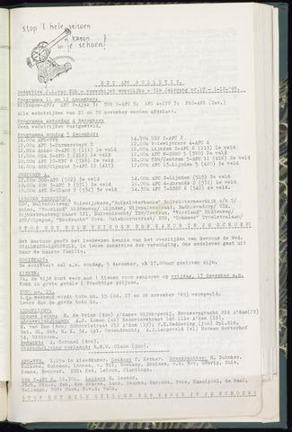 Bulletins (vnl. opstellingen) 1965-12-01