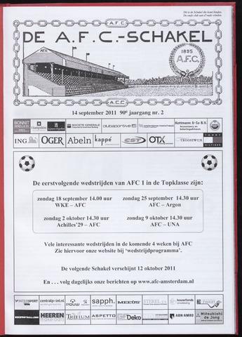 Schakels (clubbladen) 2011-09-14