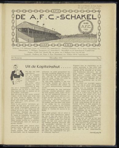 Schakels (clubbladen) 1951-12-01
