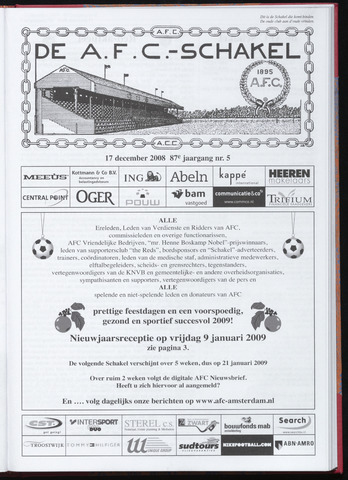 Schakels (clubbladen) 2008-12-17