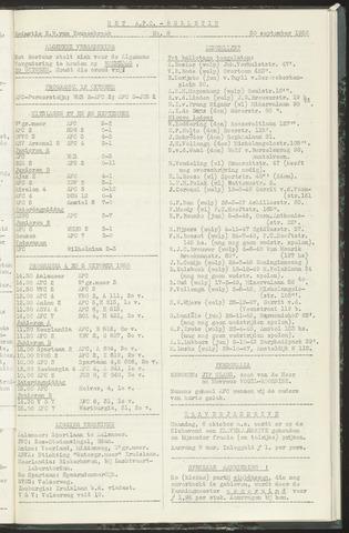 Bulletins (vnl. opstellingen) 1958-09-30