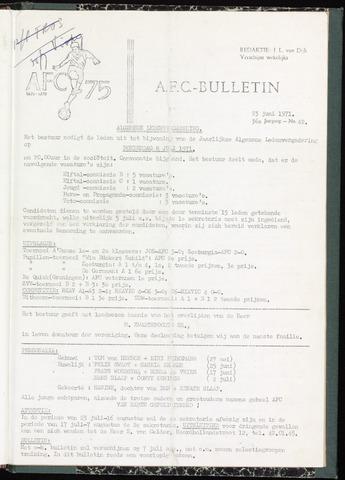 Bulletins (vnl. opstellingen) 1971-06-23