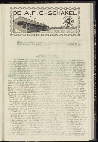 Schakels (clubbladen) 1940-01-25