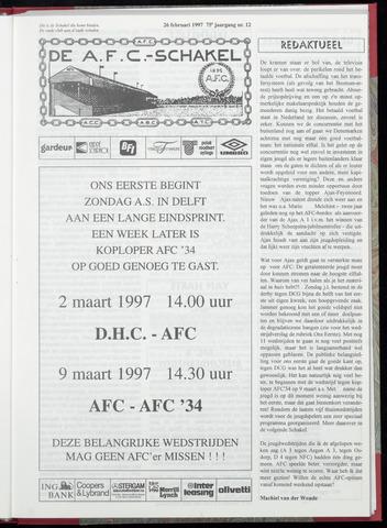 Schakels (clubbladen) 1997-02-26
