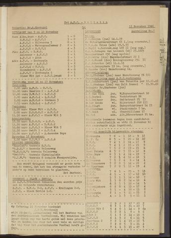 Bulletins (vnl. opstellingen) 1946-11-13