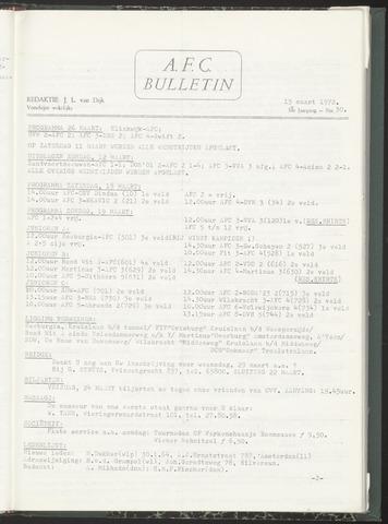 Bulletins (vnl. opstellingen) 1972-03-15