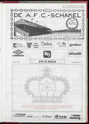 Schakels (clubbladen) 1995-04-19