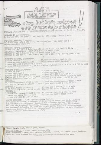 Bulletins (vnl. opstellingen) 1966-11-09