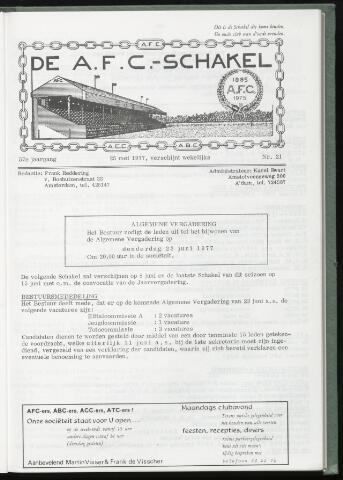 Schakels (clubbladen) 1977-05-25