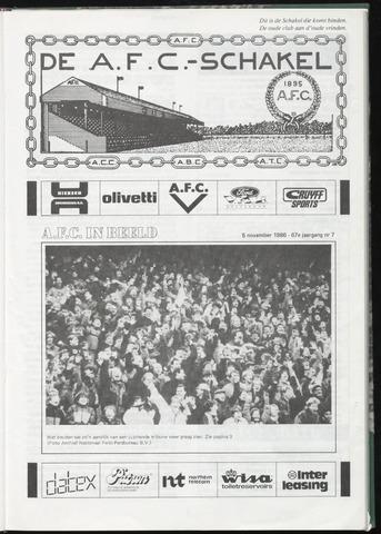 Schakels (clubbladen) 1986-11-05