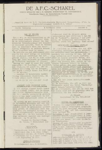Schakels (clubbladen) 1943-11-04