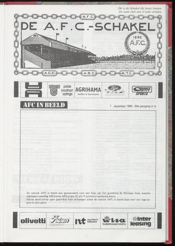 Schakels (clubbladen) 1988-12-07