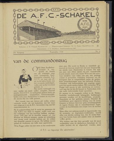Schakels (clubbladen) 1946-09-01