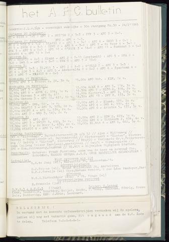 Bulletins (vnl. opstellingen) 1965-02-24