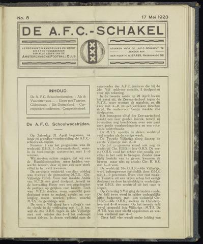 Schakels (clubbladen) 1923-05-17