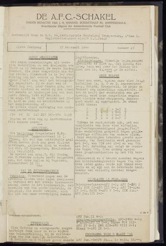 Schakels (clubbladen) 1944-02-17