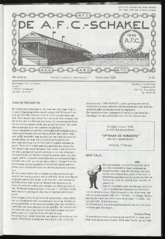 Schakels (clubbladen) 1984-12-19