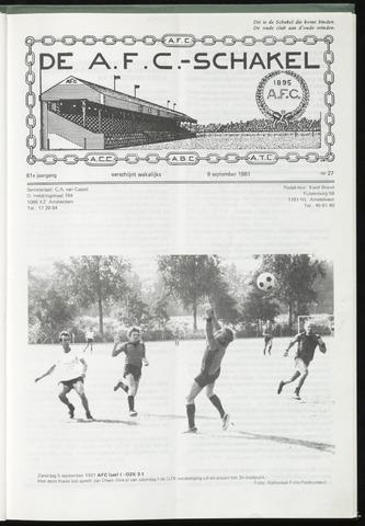 Schakels (clubbladen) 1981-09-09
