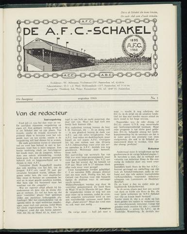 Schakels (clubbladen) 1968-08-01