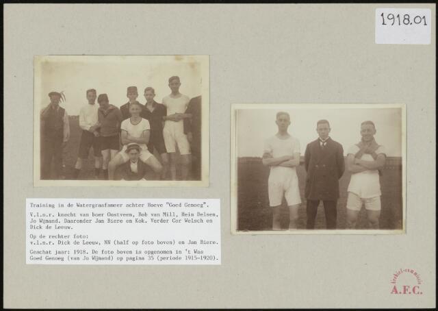 Foto's 1918