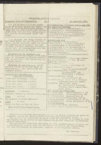 Bulletins (vnl. opstellingen) 1950-08-10