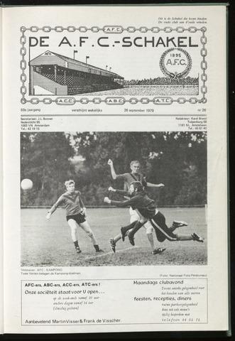 Schakels (clubbladen) 1979-09-26