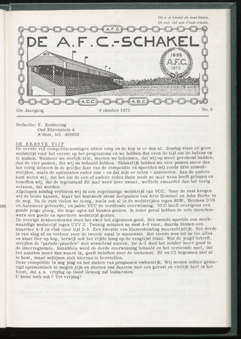 Schakels (clubbladen) 1975-09-30