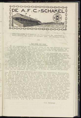 Schakels (clubbladen) 1940-01-18