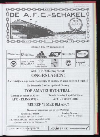 Schakels (clubbladen) 2002-03-20