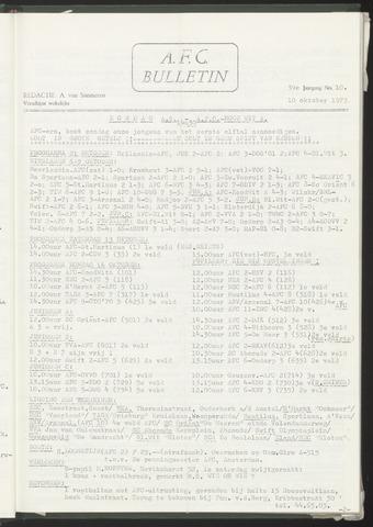 Bulletins (vnl. opstellingen) 1973-10-10