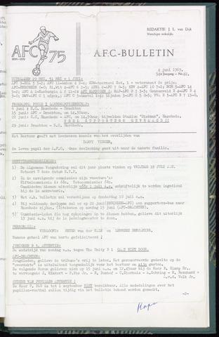 Bulletins (vnl. opstellingen) 1969-06-04