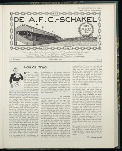 Schakels (clubbladen) 1964-09-01