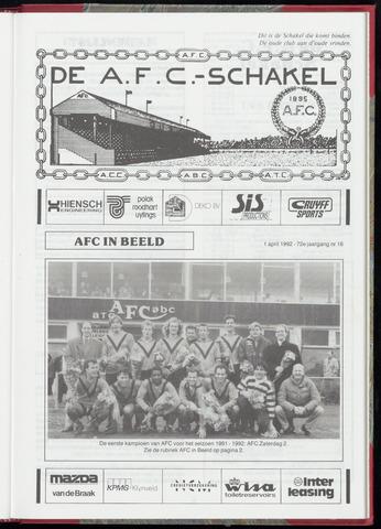 Schakels (clubbladen) 1992-04-01