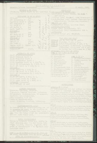 Bulletins (vnl. opstellingen) 1956-04-17