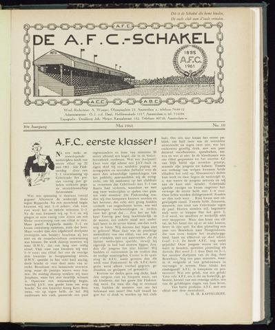 Schakels (clubbladen) 1961-05-01