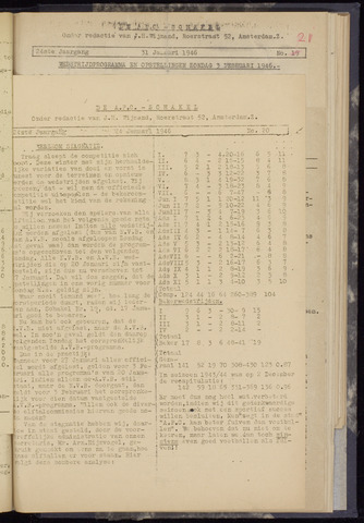 Schakels (clubbladen) 1946-01-24