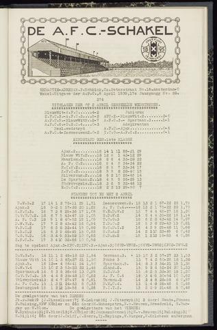 Schakels (clubbladen) 1939-04-06
