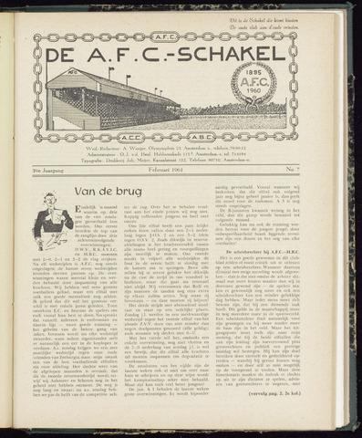 Schakels (clubbladen) 1961-02-01