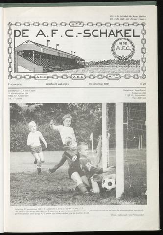 Schakels (clubbladen) 1981-09-16