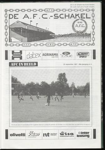 Schakels (clubbladen) 1987-09-23
