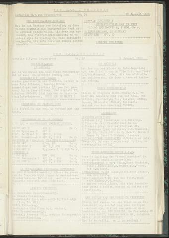 Bulletins (vnl. opstellingen) 1955-01-11
